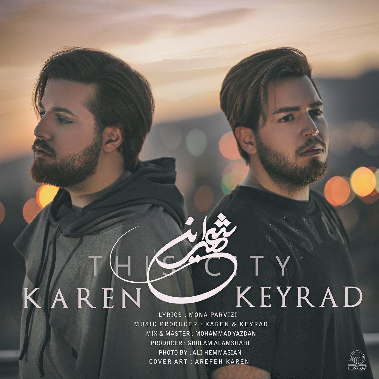 دانلود آهنگ جدید کارن و کیراد Keyrad