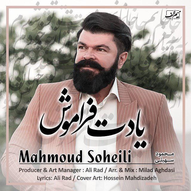 دانلود آهنگ جدید محمود سهیلی یادت فراموش